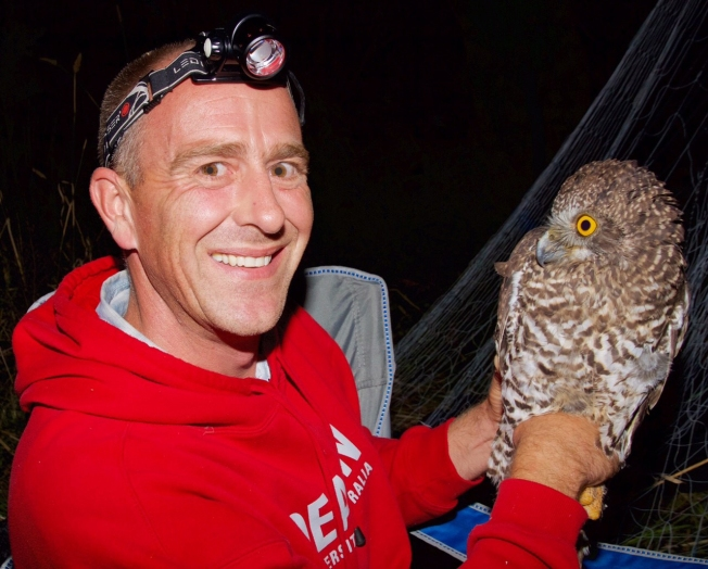 Me with a powerful owl